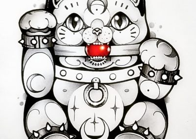 BDSManeki Neko#neko #manekineko #bdsm #fetish #ink