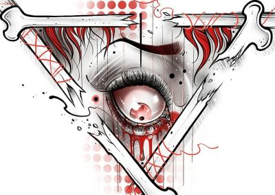 Killuminatti.F*ck NWO.#killuminatti #eye #blood #illuminatti #illustration